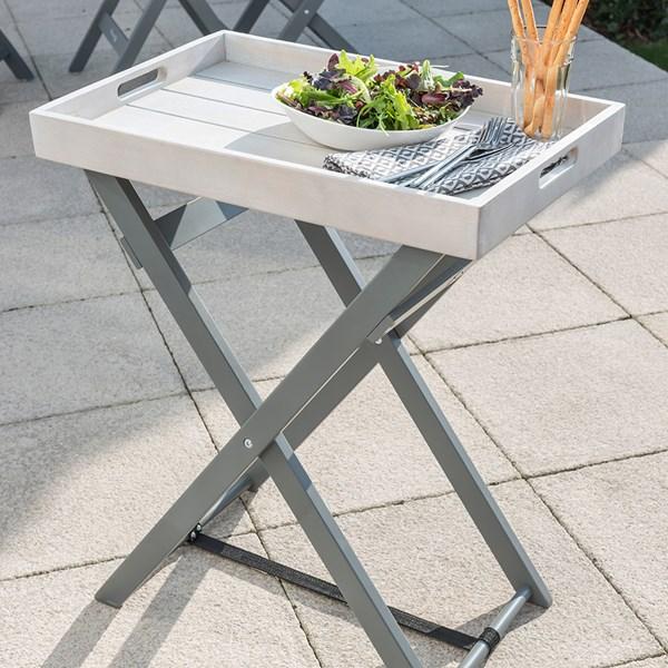 Grigio Garden Butler Table