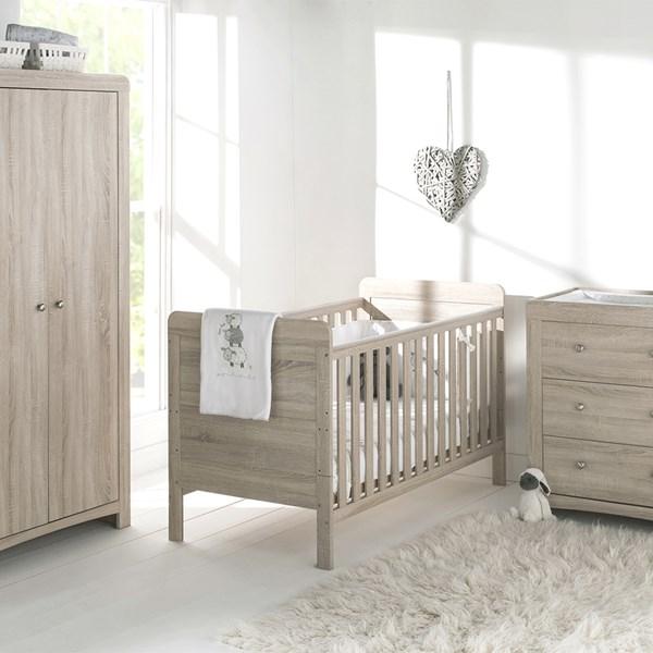 East Coast Fontana Nursery Cot Bed Bedroom Set