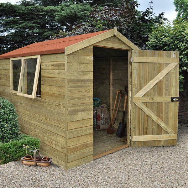 Forest Garden Tongue & Groove 8x6 Apex Shed