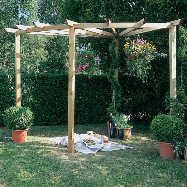 Forest Garden Radial Pergola