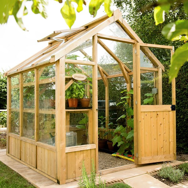 Forest Garden 8x6 Vale Greenhouse