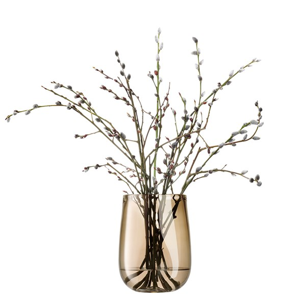 LSA Small Forest Vase in Larch