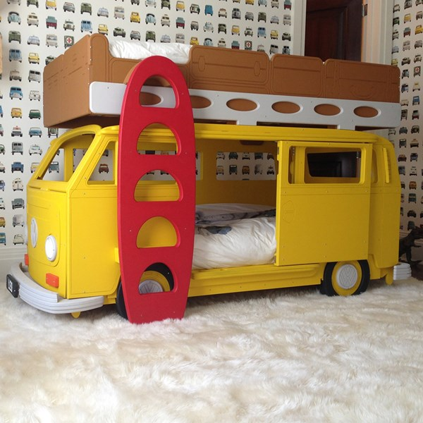 Camper Van Bay Children's Bunk Bed