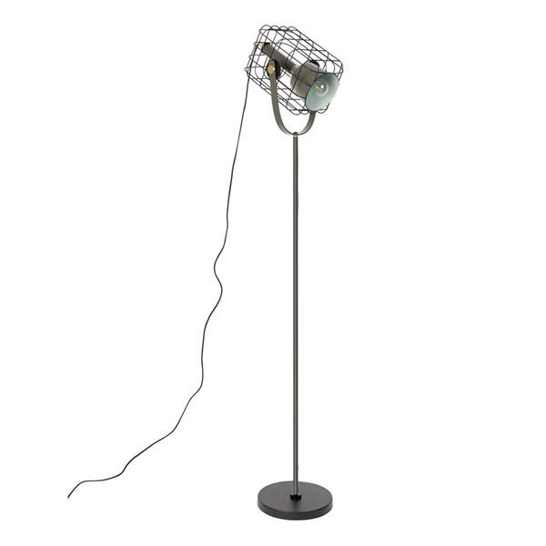 Cage Floor Lamp in Black