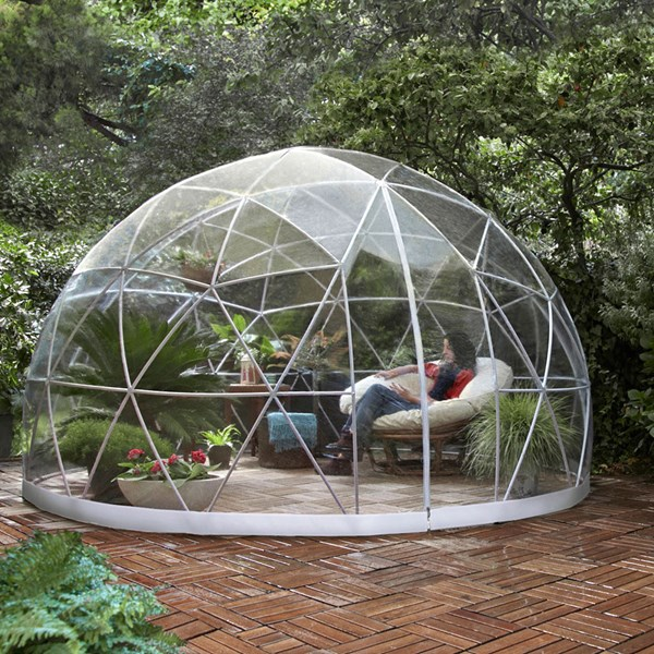 Unique Garden Gazebo with Protective Cover