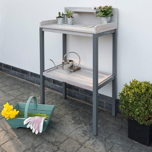 Grigio Wooden Potting Table
