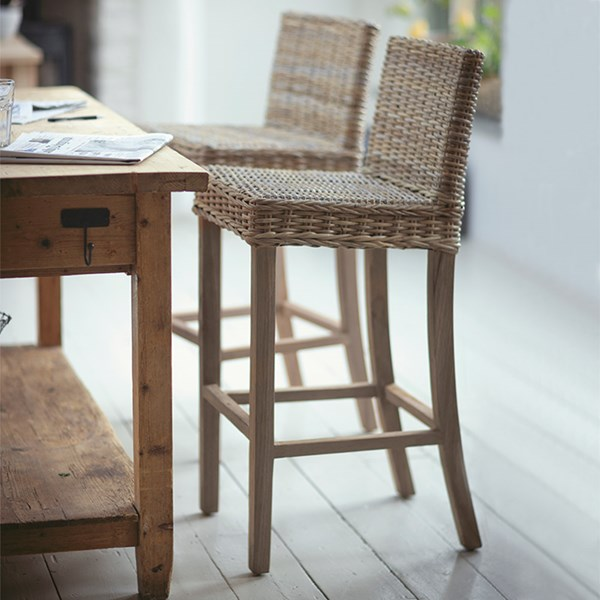 Garden Trading Bembridge Rattan Bar Stool