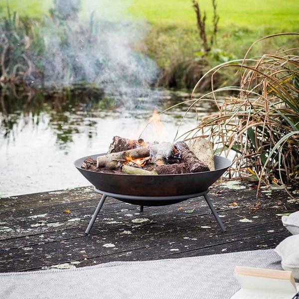 Garden Trading Idbury Fire Pit in Cast Iron