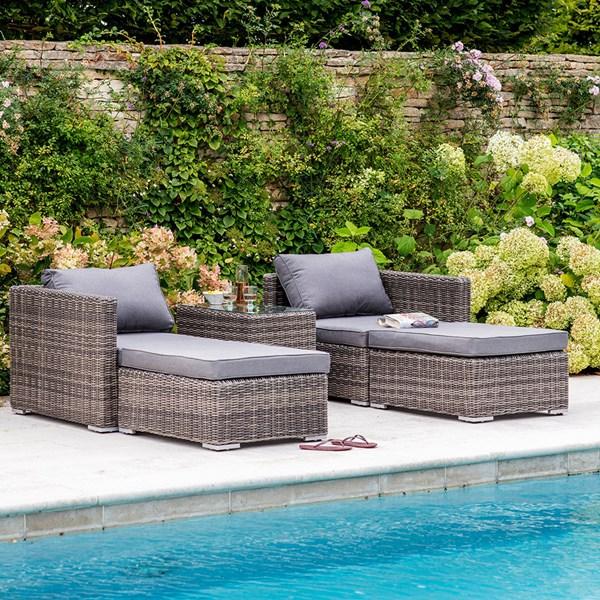 Garden Trading Selborne Double Lounger Set