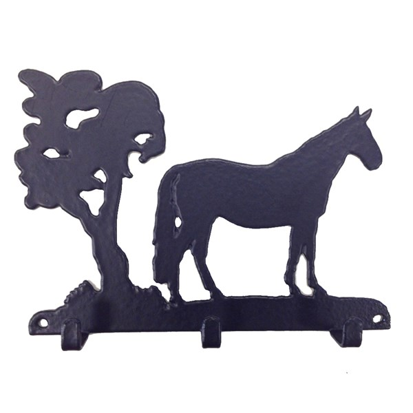 Key Rack in Horse Design