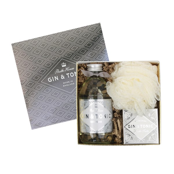 Bath House Gin and Tonic Bathe Gift Box
