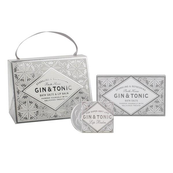 Bath House Silver Gin & Tonic Handbag Treat