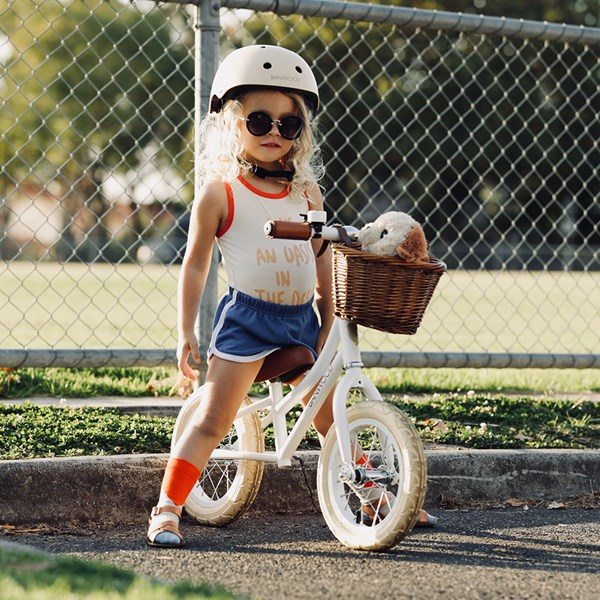 Banwood First Go! Balance Bike in White