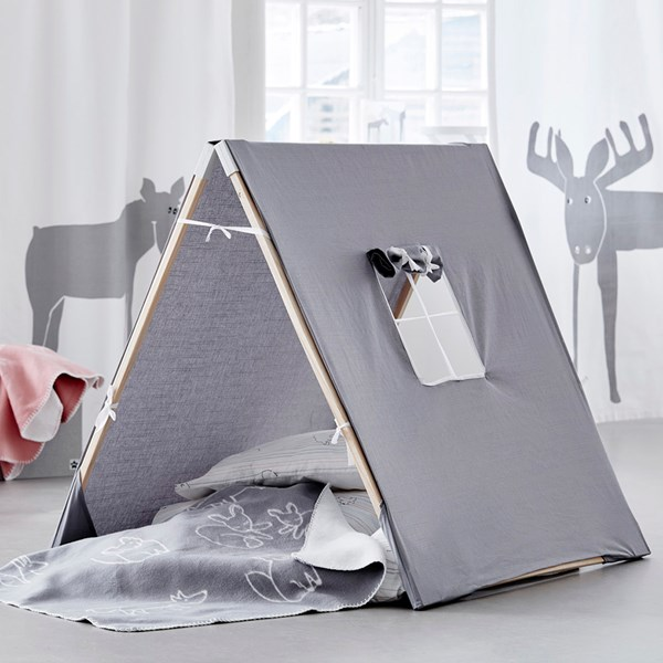 Children's Grey X Play Tent