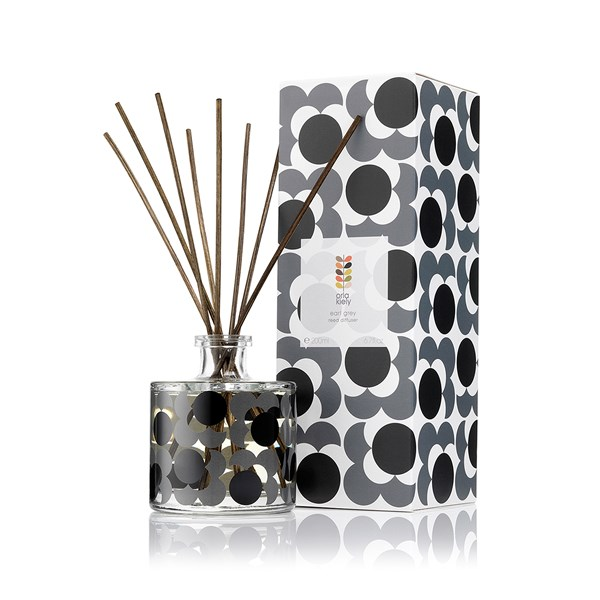 Orla Kiely Reed Diffuser in Earl Grey