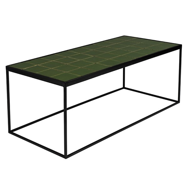 Zuiver Glazed Coffee Table in Green