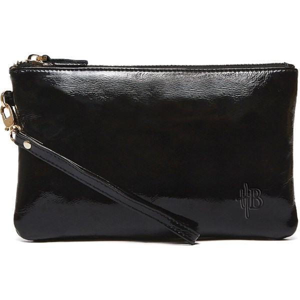 Mighty Purse in Glossy Black by Handbag Butler