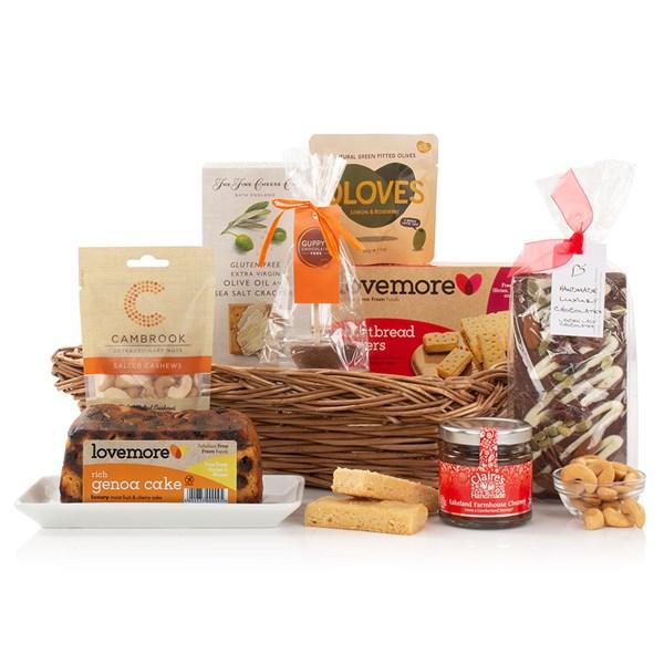 Virginia Hayward Gluten & Wheat Free Tray Luxury Gift Hamper