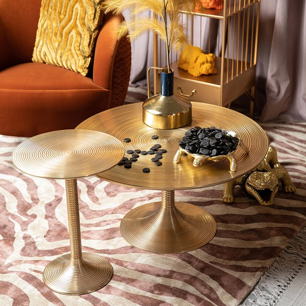 Gold Art Deco Style Tables from Bold Monkey