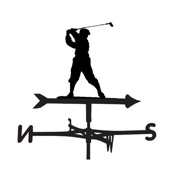 Golf Design Weathervane