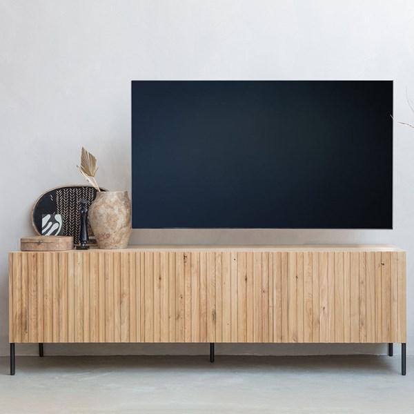 Woood Gravure TV Stand