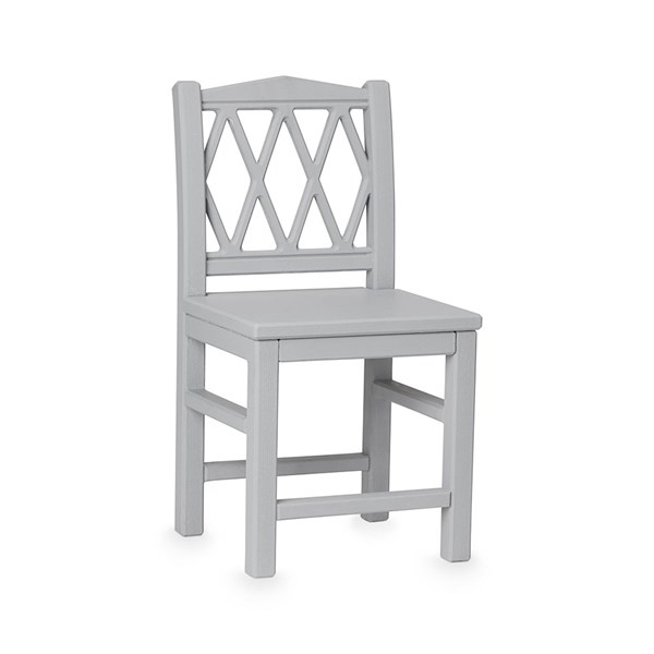 Grey Wooden Children's Chair from Cam Cam