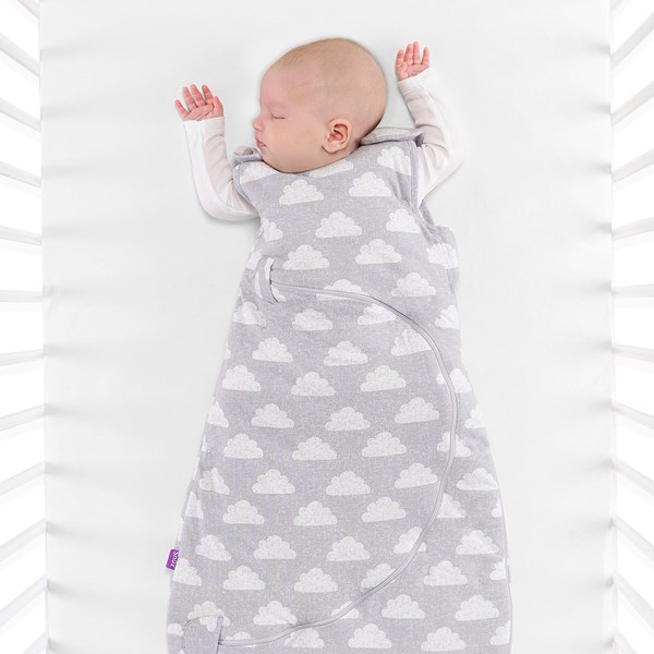 SnuzPouch Sleeping Bag 2.5 Tog in Cloud Nine