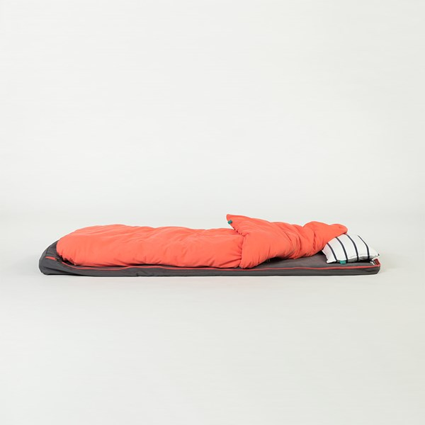 Bed in a Bag in Grey and Coral