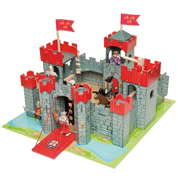 Le Toy Van Lionheart Wooden Castle
