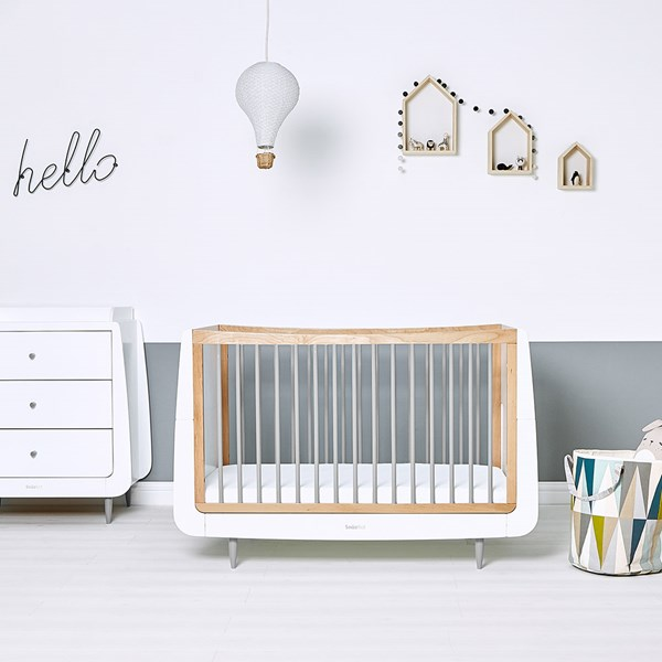 SnuzKot Skandi Cot Bed in Grey