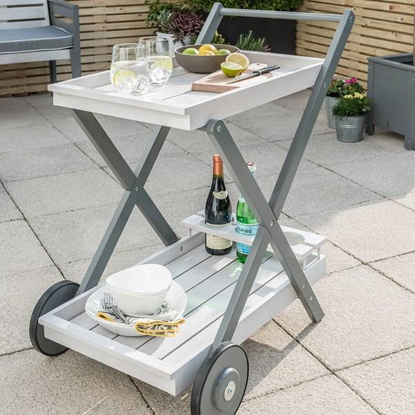 Grigio Garden Tea Trolley