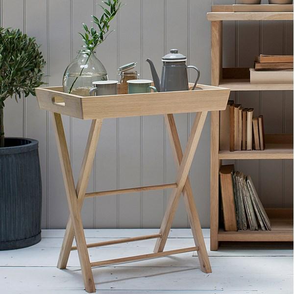 Garden Trading Hambledon Small Oak Butler's Tray