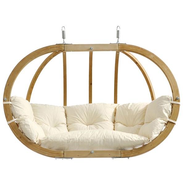Globo Royal Hanging Chair in Natura Cream