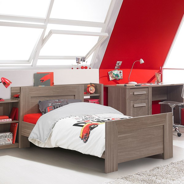 Stylish Hangun Kids Single Bed in Wooden Design