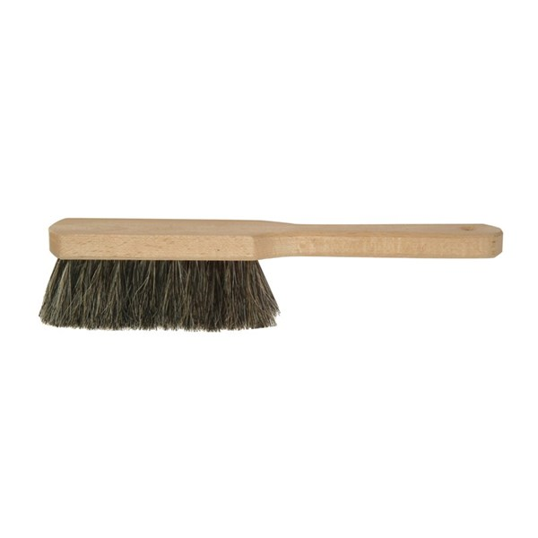 Hearth Fireplace Brush in Spruce Wood