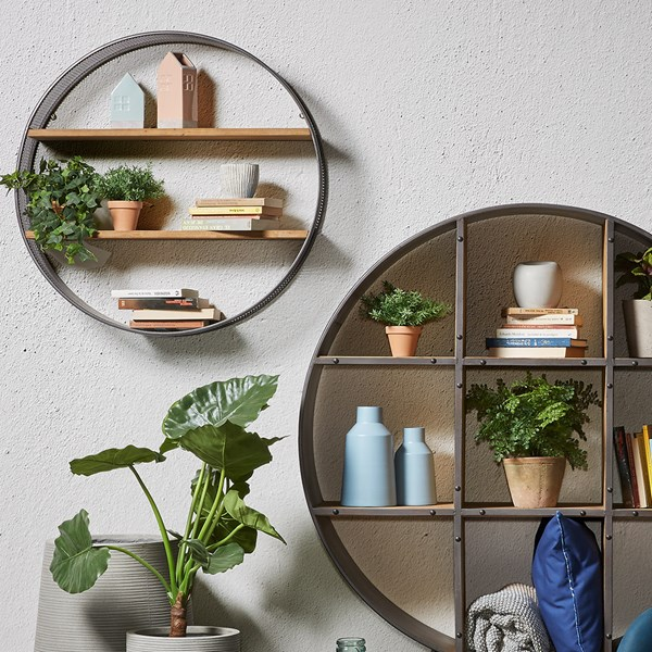 Helia Round Wall Shelf by La Forma