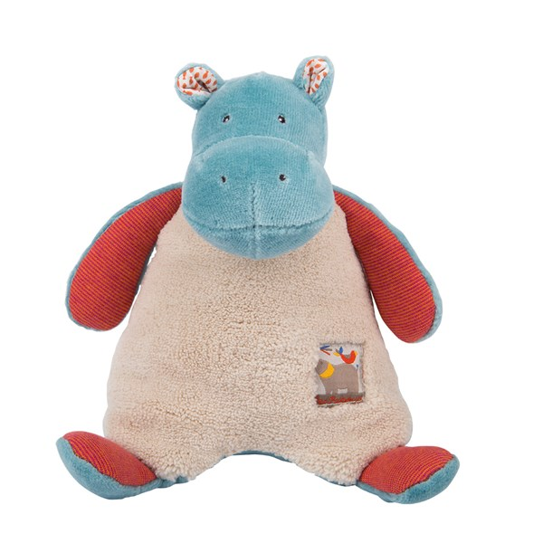 Childrens Hippo Rattle