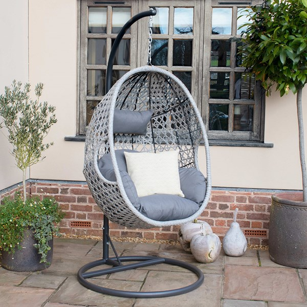 Maze Rattan Ascot Outdoor Hanging Chair