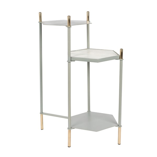 Zuiver Honeycomb Side Table in Grey
