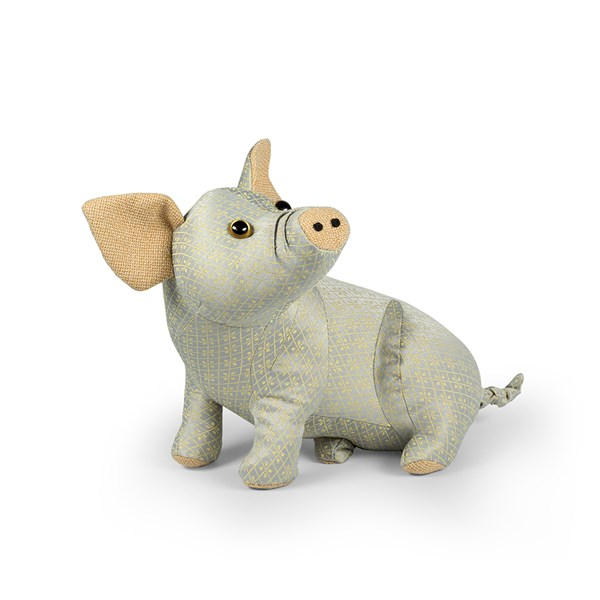 Posh Hyde the Pig Animal Doorstop from Dora Designs