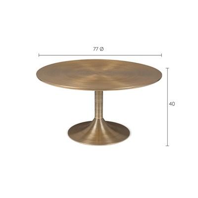 Bold Monkey Hypnotising Round Coffee Table Cuckooland