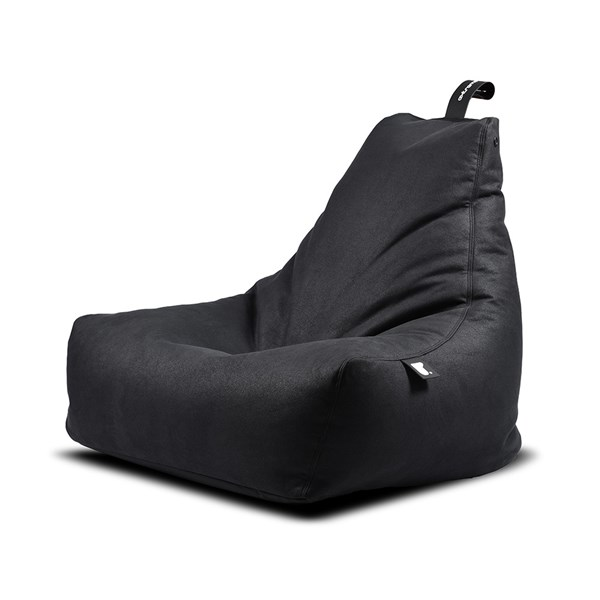 Extreme Lounging Mighty B Luxury Indoor Bean Bag in Charcoal