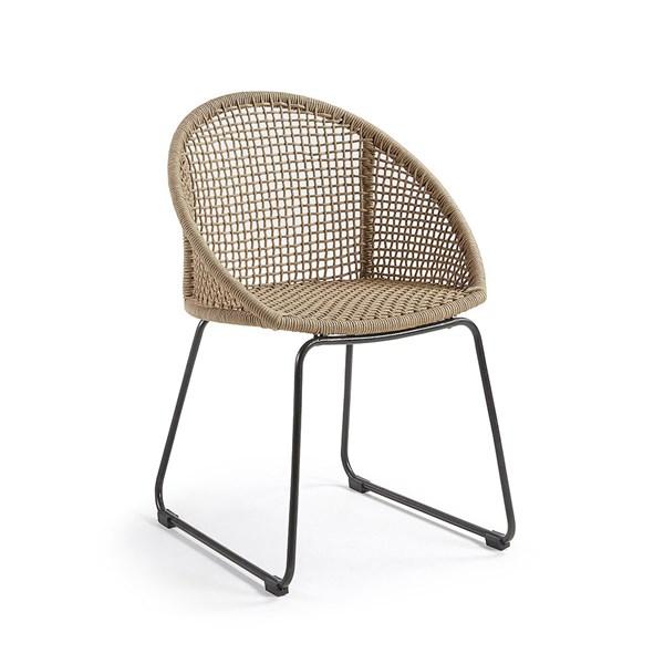 Sandrine Outdoor Armchair in Beige