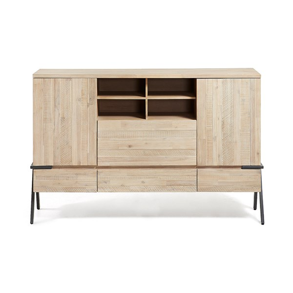 Disset Solid Acacia Wood Sideboard