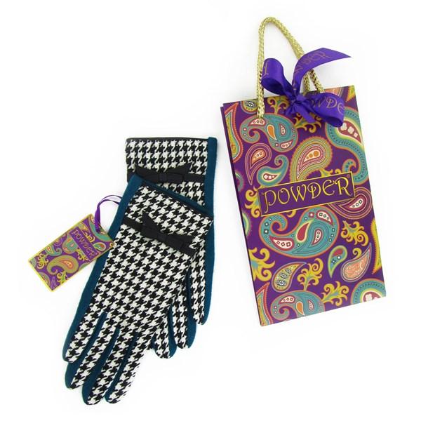 Ingrid Pure Wool Gloves in Teal