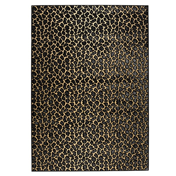 Bold Monkey It's A Wild World Baby Panther Rug