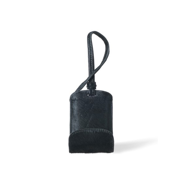 Sulan Premium Bag Tag Mobile Phone Charger in Black