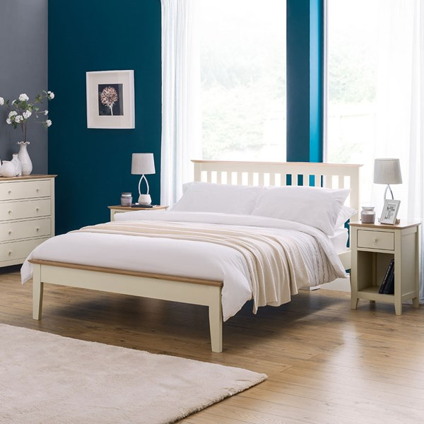 Salerno Two Tone Bed by Julian Bowen