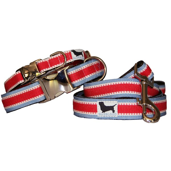 KENNEDY Large  Dog Collar with Matching Lead