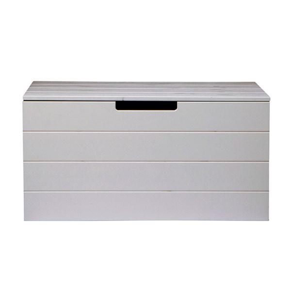 Contemporary Storage Box in Grey